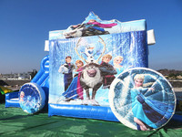 EN14960 Princess jumping inflatable castle,inflatable jumper,inflatable slide castle