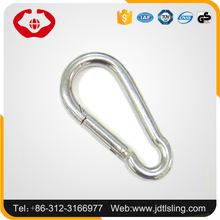 High safety alloy steel heavy duty trigger metal snap hook