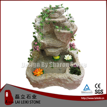 Polished Natural Granite Stone Water Fountain Garden