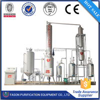 Power saving CE certified machine for recycling used motor oil , oil filtration system