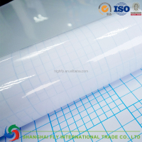 70120 special size satin cold lamination film,white paper with blue lines,image protection
