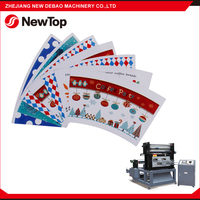 NewTop 2016 Best Quality PLC Control Cheap Price Paper Cup Die Cutting Creasing Machine Exported To India