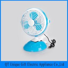 Unique Gift New Arrival Ac Usb Mini Clip Table Fan 220V For Desk Top