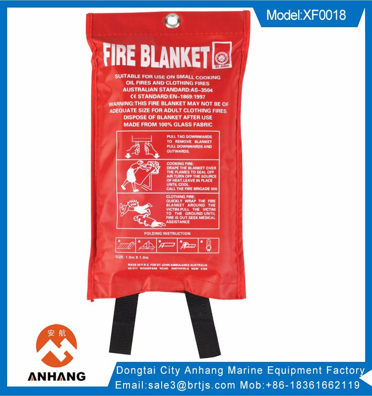 en1869 certificate fire blanket fireproof insulation blanket