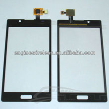 Mobile Phone Digitizer For Lg P700 Optimus L7 Digitizer Touch Screen Replacement