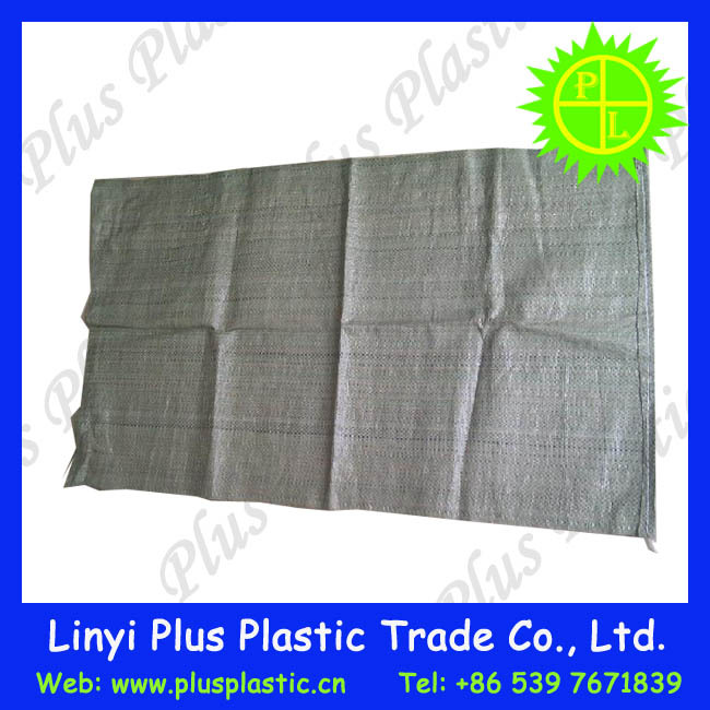 plastic polypropylene package cement 50 kg bags