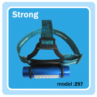 High Quality 3 Mode 200 Lumen High Power Headlamp Flashlight Head Lamp Headlight With Tail Magnet