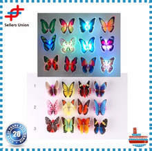 Christmas Led Optical Fiber Butterfly Decorations
