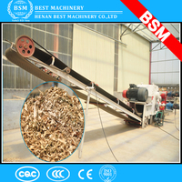 oil palm EFB,coconut husk chipper shredder export to Malaysia, Thailand and Indonesia