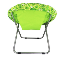 Portable new design hot sell reclining fold up camping moon chair