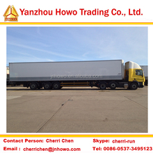 factory directly selling 13M van semi trailer with 3 axle for bulk cargo transporting