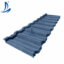 Steel Building Roofing Material / Color Stone Coated Metal Roof Tiles / Metro Roofing Sheet