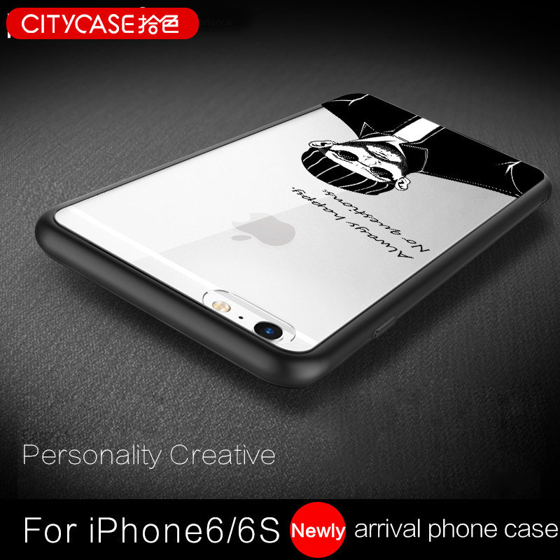 citycase Fashion Character Bumper Smartphone Case For iPhone6, Mobile Phone Accessories For iPhone6plus