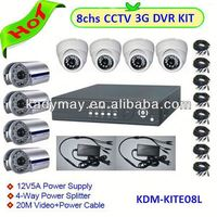low cost Outdoor/Indoor security cctv infrared DVR camera for 8ch H.264 dvr system kit