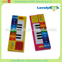 Pre-recorded children books with sound effects,recordable sound chips for books,sound panel