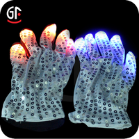 Amazing LED Product Bright For Long Time Flashing Rave Gloves