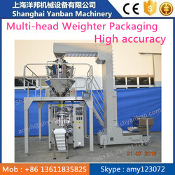 Automatic Vertical Granule Packing Machine for 250g,500g,1000g Frozen Dumplings and Meat Balls in Low Price