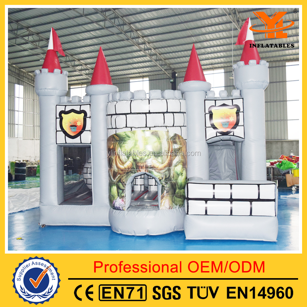 Funny Inflatable Combo Games for Sale, Castle House for Kids , Combo Inflatable for Events