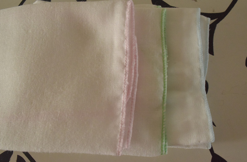 100% Cotton 30cm x 30cm Face Cloth for Cosmetic Baby Face Towel