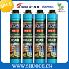 polyurethane filler adhesive for professional construction 750ml high rigid pu foam properties