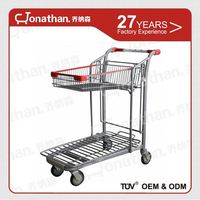 SXE 9 Airport Luggage Baggage Trolley