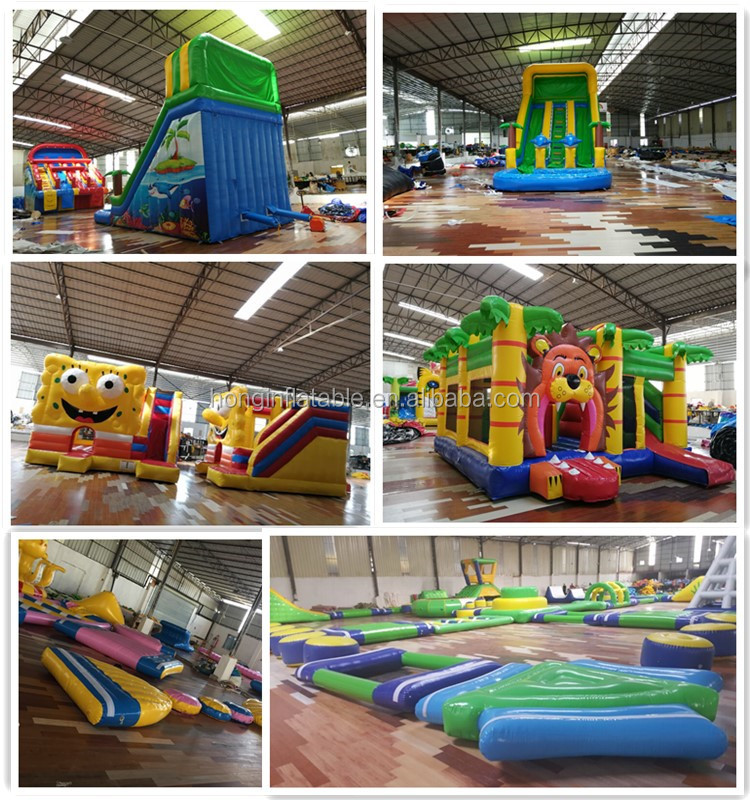 Giant Mobile Kids Water Amusement Park Water Park Equipment Inflatable Water Park For Sale