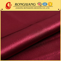 Fabric textile supplier High quality Elegant Woven polyester satin lining