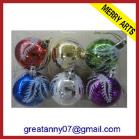 2013 hot style wholesale Lollipop christmas crystal ball