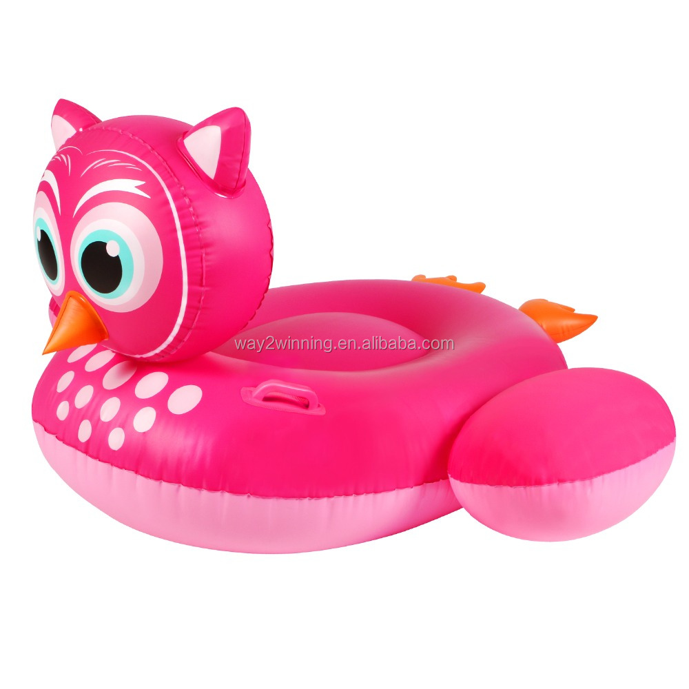 Inflatable Pool Float Giant Owl Bird Kids Lounge Toy Summer Inflatable Owl Swimming Pool Float Toys For Kids