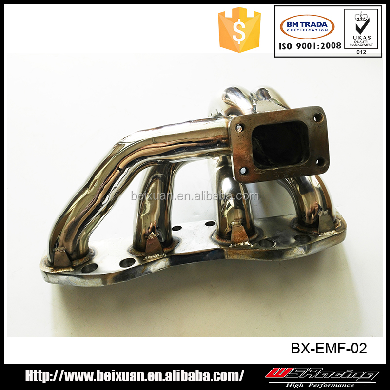 3mm s/s / mild steel for Nissan S14 CA18DET engine turbo exhaust manifold