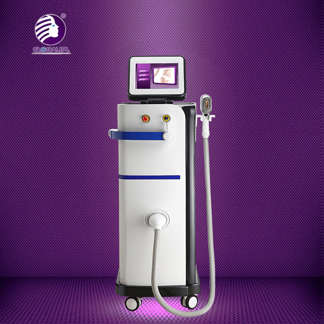 High frequency permanent ICE Diode laser hair removal / 808nm Diode laser Depilation