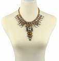 2017 Best selling metal jewelry necklace, trendy necklace jewelry wholesale, beaded necklace new design