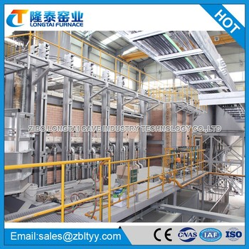 100T Per Day Regenerative Solid Sodium Silicate Furnace