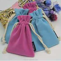 Custom velvet power bank bags portable battery pouches drawstring bags for Charger Baby,Charger Pal