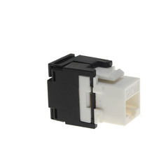 Cat6A Utp Unshielded 8 Pin Gold Plated Rj45 Network Female, 110 Idc Modular 180 Degree Toolless Ethernet Dustproof Keystone Jack