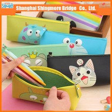 cheap sales good quality pu school pencil case for kids