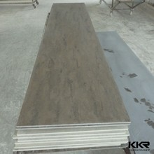 Factory cost of solid surface cultured marble for countertops