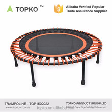 New Product Private Label Indoor Fitness Colorful Bungee Mini Trampoline