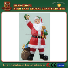 Father christmas cute home crafts resin african american figurines wholesale