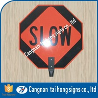 Traffic Safety portable good hand held stop signs