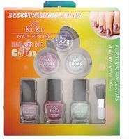 Continuous used Light Green Pet Empty Uv Gel Nail Polish Bottle