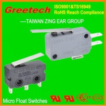 zing ear micro switch, UL listed, Rohs compliance mini float switch submersible pump