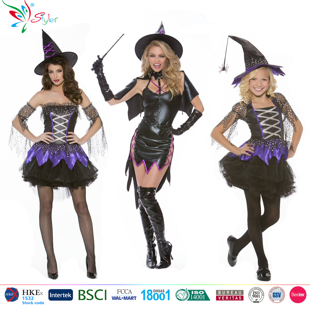 deluxe style sexy magic witch Cosplay halloween costume