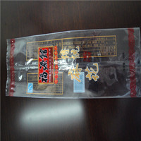 heat seal printed laminated plastic bread bag