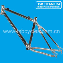 China TI-Carbon MTB Fram/Ti-C bicycle frame/titanium carbon bike framee TSB-HSTCM0901