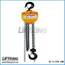 G80 manual chain pulley block manufacturer with CE certificate