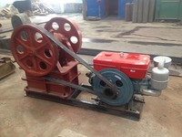 Environment Protection diesel engine jaw crusher for sale