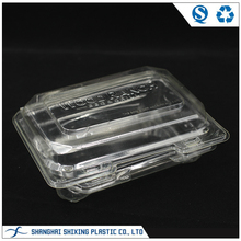 Transparent Food Grade Fruit Plastic Clamshell Packaging