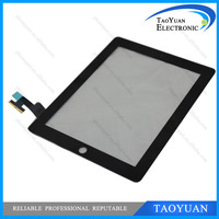 Taoyuan Brand new digitizer glass replacement original black touch screen for ipad 2