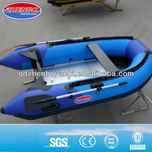 2017 newest style jet inflatable sports pvc hypalon military folding boat
